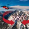 Die Zugspitze im 360-Grad-Video: Hubschrauberflug auf den höchsten Berg Deutschlands (FOTO)
