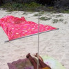 SHADE SOLUTION – Flexible Lösung für windreiche Strandtage
