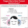 TNS Infratest Umfrage zeigt: Nur wenige schützen ihr Gehör (FOTO)
