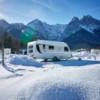 Camping geht auch ganz in weiß