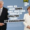 """""""Weil es nur eines gibt, was uns wirklich spalten darf: die Essiggurke"""" – McDonald–s Deutschland setzt Statement für Zusammenhalt (FOTO)"""