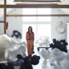 Eva Hild im Skulpturenpark Waldfrieden