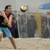 Beachvolleyball auf der f.re.e Erhard Sport stellt Spielfelder für 1. Bayerischen Indoor-Meisterschaften