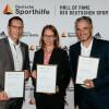 """Katja Seizinger, Andreas Dittmer und Gerd Schönfelder offiziell in """"Hall of Fame"""" aufgenommen: """"Es ist eine unglaubliche Ehre, diesem Kreis anzugehören"""" (FOTO)"""
