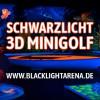Erste 3D Schwarzlicht Minigolf-Anlage in Senden bei Ulm / Neu-Ulm