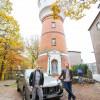 """Sozialer Abstieg mit 186 Stufen: Millionärs-Paar tauscht Hamburger Luxus-Wasserturm mit Mini-Wohnung in Bremen – in """"Plötzlich arm, plötzlich reich"""" am Mittwoch in SAT.1 (FOTO)"""