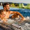 Marry me – am Pool im Bayrischen Wald