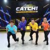 """Die Revanche! Luke Mockridge fordert Sophia Thomalla, David Odonkor und Daniel Donskoy zum Fang-Duell in """"CATCH! Die Deutsche Meisterschaft im Fangen"""" – am Freitag in SAT.1 (FOTO)"""