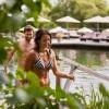 Neuer Wellnessgarten im Hotel Guglwald: Genießen unter der Sonne