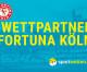 sportwetten.de wird offizieller Wettpartner des SC Fortuna Köln (FOTO)