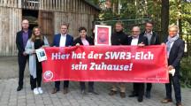 Stadt Baden-Baden schenkt SWR3 eine Elchpatenschaft (FOTO)