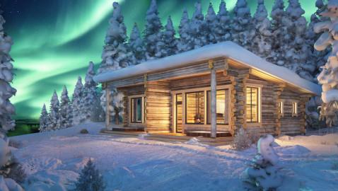 Aviation & Tourism International präsentiert Blockhüttenromantik und Wintersport in Finnlands arktischem Norden